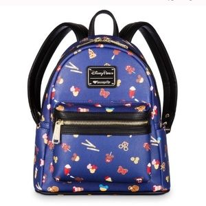 Disney parks food icon mini backpack